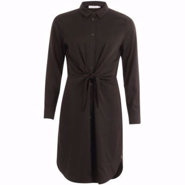Coster Copenhagen 194-5412 Dress with long sleeves and tieknot