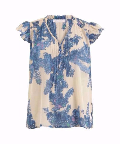 Coster Copenhagen Top with smock and frill