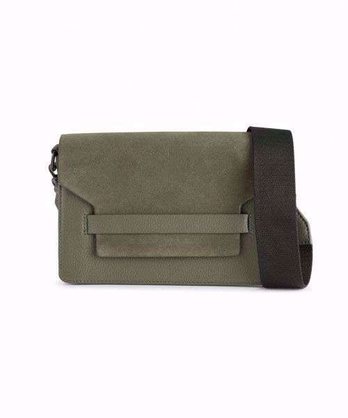 Markberg Arabella crossbody bag suede mix