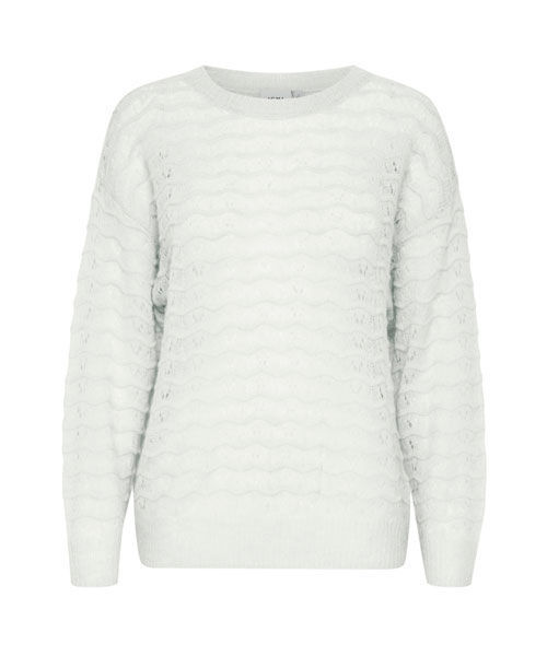 Ichi Ihnevelin Is pullover white