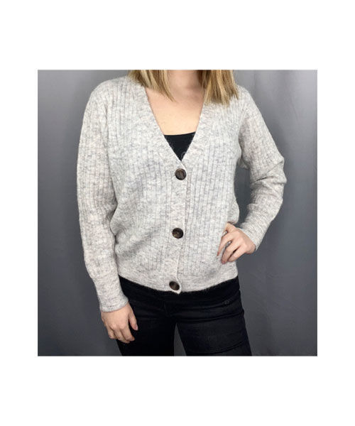 Freequent hill s cardigan rib