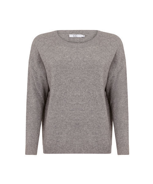 CC HEART 2102 RELAXED CASHMERE SWEATER