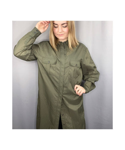 Ganni F4830 shirt dress