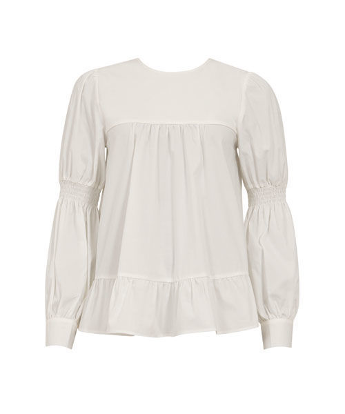 Coster Copenhagen blouse w. cuffs and volume body