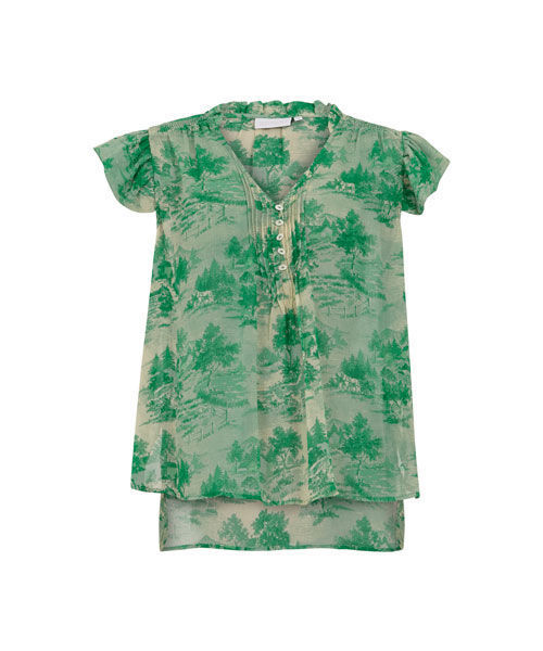 Coster copenhagen top in wallpaper print