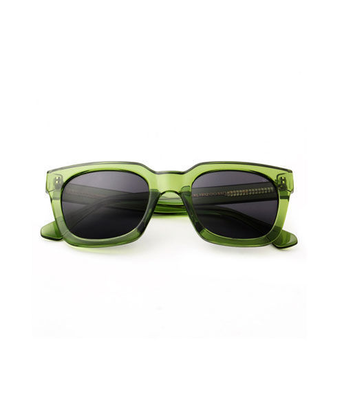 Nancy light olive transparent