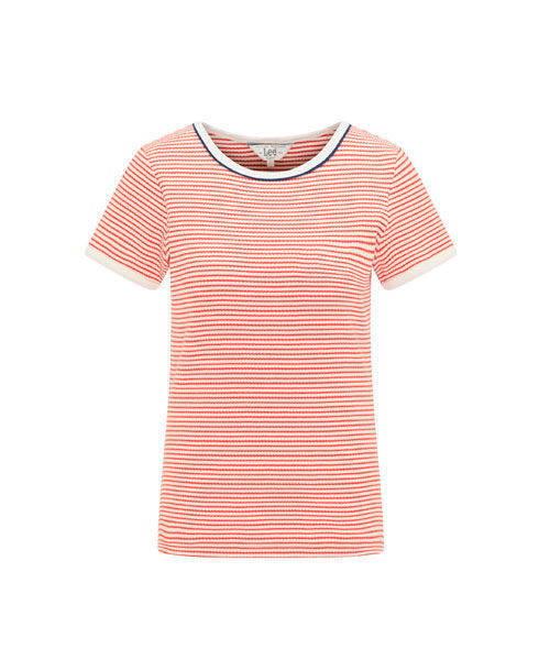 Lee striped ribbed tee